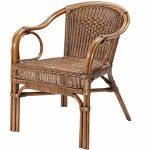 silla jardin rustica
