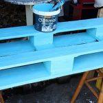 pintando palets