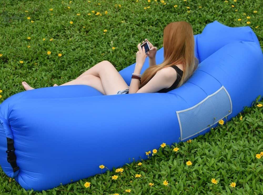 sofa hinchable playa piscina