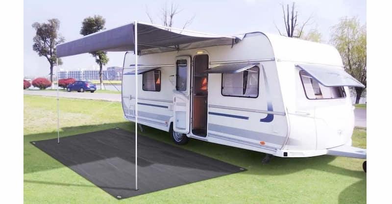 alfombra exterior caravana y camping