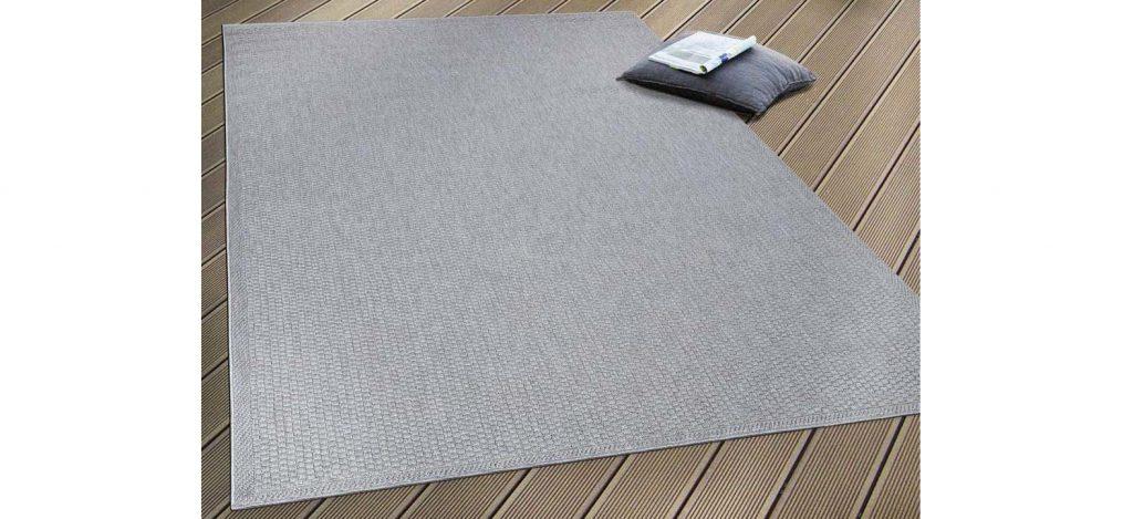 alfombra exterior gris