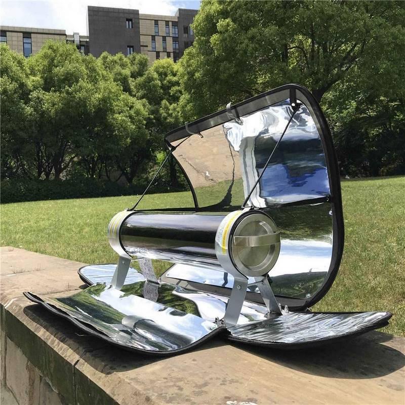 barbacoa solar portatil