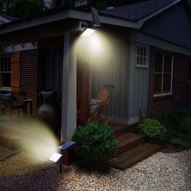 farola solar exterior