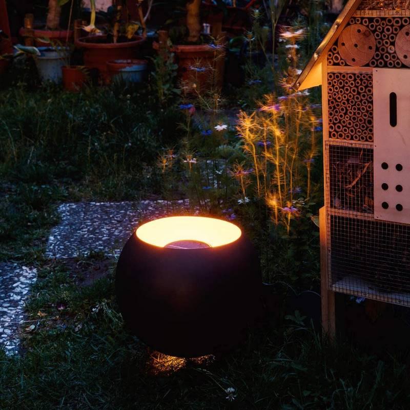 farolas de jardín