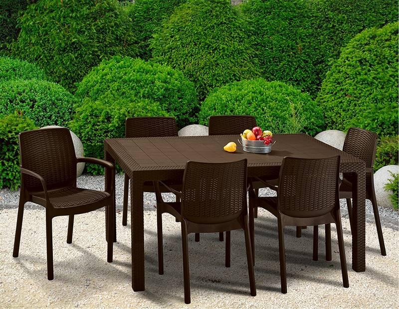 mesas de jardin baratas
