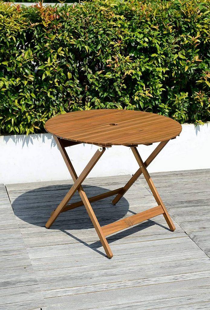 mesas jardin