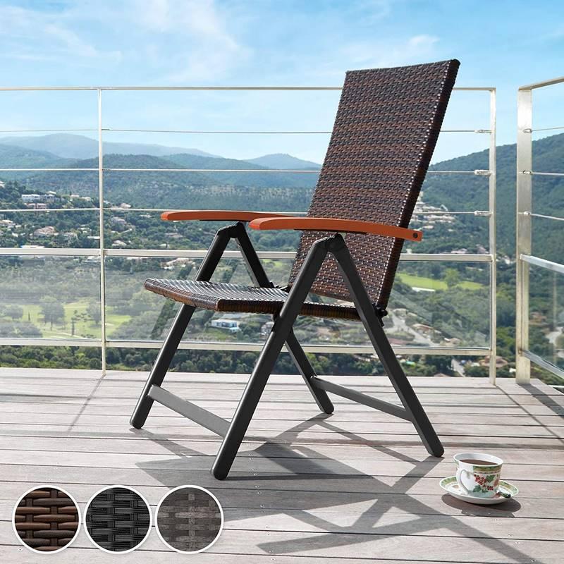 sillas de terraza y jardin