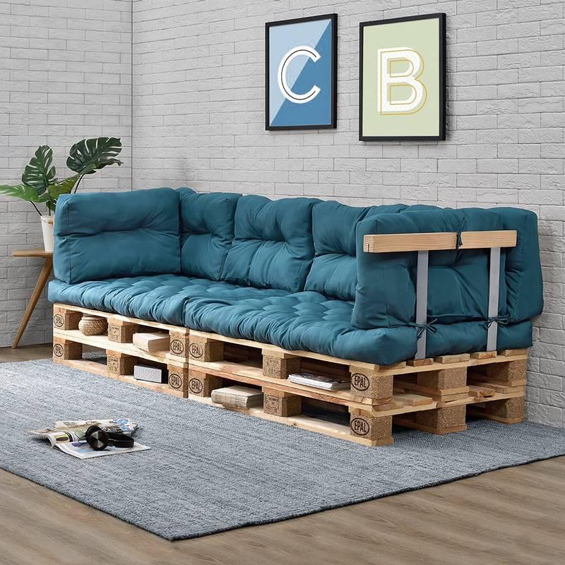sofas con conjines para palet