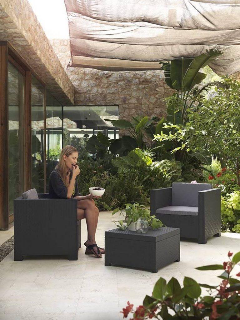 sofas terraza baratos