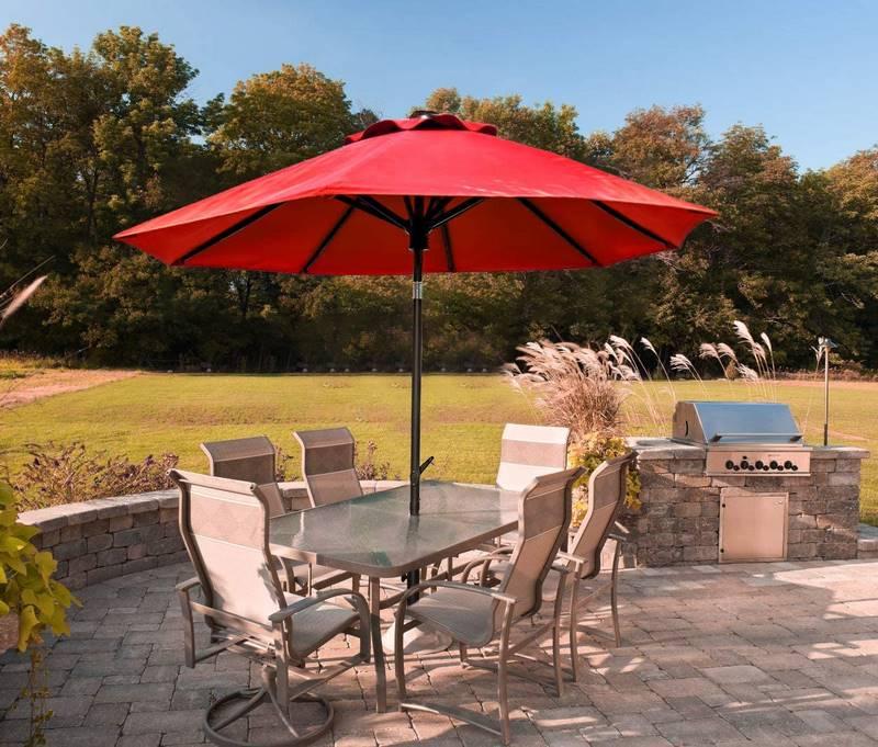 sombrilla para jardin y terraza
